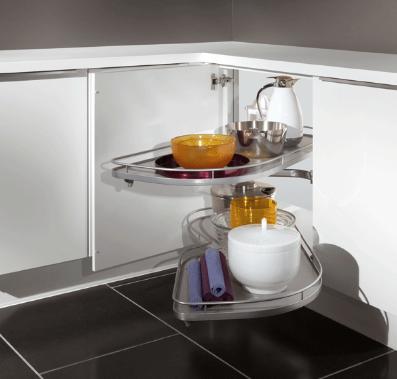 Bien choisir accessoire rangement cuisine cuisine moderne for Tiroir angle cuisine