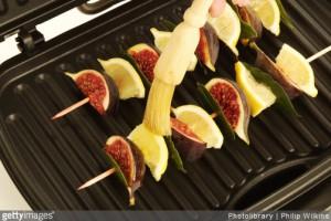 recette - fruits - plancha